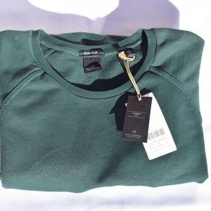 SCOTCH & SODA Original Basic Sweater in Green (XL)